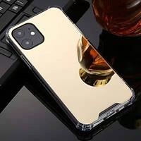Ốp lưng Tráng gương IPHONE Viền dẻo 4 màu (Vàng- Hồng- Đen- Bạc) cho Iphone 5/5S, 6/6S, 6/6S Plus, 7/8, 7/8 Plus, X/XS, XR, XS Max, 11, 11 Pro, 11 Pro Max lung linh sang trọng