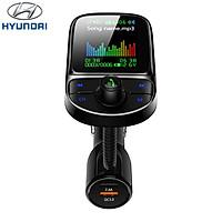 Tẩu nghe nhạc bluetooth cao cấp thương hiệu Hyundai C85 - Sạc Nhanh QC 3.0 - Xoay 360 độ - Bluetooth 5.0 - Hàng Nhập Khẩu