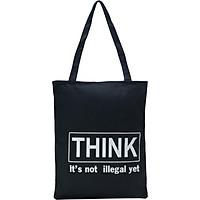 Túi Vải Đeo Vai Tote Bag Think XinhStore