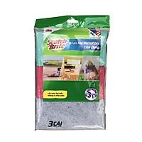 Bộ 3 khăn lau bếp đa năng tiện dụng Microfiber Scotch-Brite 3M KL-BEP3