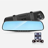Camera hành trình ô tô xe hơi CAR365 Chính Hãng, Màn 4.3 inch Có cả cam trước và cam sau tiện lợi, Chất lượng Full HD 1080 -CAR19