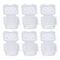 Bộ 6 hộp chia thức ăn Richell (150ml/ Hộp)