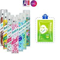 Dầu gội khô Batiste dry shampoo 200ml TẶNG mặt nạ Sexylook (Nhập khẩu)