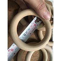 Khoen gỗ tròn 2cm, 3cm, 4cm, 5cm, 6cm,7cm,8cm,10cm phụ kiện macrame, handmade