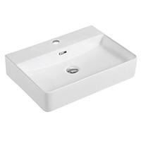 Chậu lavabo rửa mặt đặt trên bàn BSA-5066 sản phẩm chỉ gồm phần sứ (vòi gắn lên thành lavabo)
