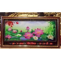 Đồng hồ điện  lịch vạn niên Hoa Sen - MS207