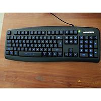 Bàn phím Newmen có dây gaming GL100 LED - GL100 _ Hàng chính hãng