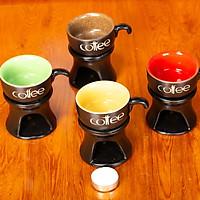 Đèn xông tinh dầu nến ly coffee Lasante DN-01