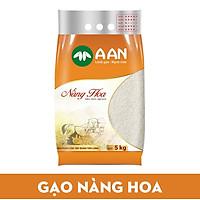 Gạo Nàng Hoa Túi 5kg A An - Mềm, dẻo, thơm nhẹ, ngọt cơm