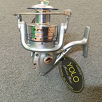 Máy câu cá YOLO KFB6000 cối kim loại chuyên câu lục,lancer,câu sông