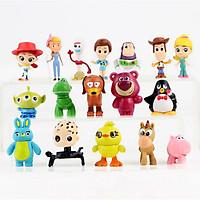Bộ 17 Mô Hình Nhân Vật Hoạt Hình Toy Story
