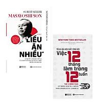 Bộ Sách: MASAYOSHI SON-Tỷ phú liều ăn nhiều + Tối đa hóa hiệu suất công việc-Việc 12 tháng làm trong 12 tuần
