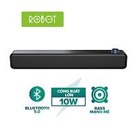 Loa Vi Tính Để Bàn ROBOT RB480 Công Suất 10W Pin 1200mAh Kiểu dáng hiện đại- Hàng chính hãng