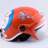 Mũ bảo hiểm cho bé hình Doremon cao cấp - dành cho trẻ từ 5 - 10 Tuổi