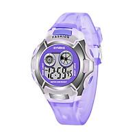 SYNOKE 9034 Kids Stylish Sport Watch Multifunctional Digital Wristwatch with LED Luminous/Alarm/Life