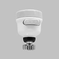 Cần vòi chén lò xo, cong bẻ thay thế cho vòi rửa chén, có đầu chỉnh nhựa 3 chế độ nước