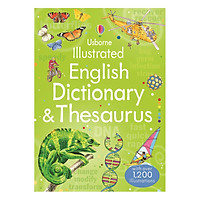 Sách tiếng Anh - Usborne Illustrated English Dictionary & Thesaurus