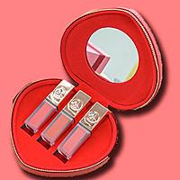 Combo 3 Roses Matte Lipstick - HeartBox