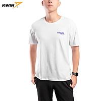Áo thun ngắn tay Unisex Kwin KTSR04 chất liệu Cotton mềm mại, thoáng mát