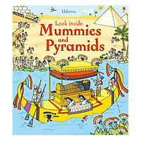 Usborne Look inside Mummies & Pyramids