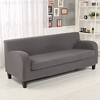 2-piece Sofa Cover Fully Covered for Cybercafe Restaurant Office with Armrest Sofa Cover