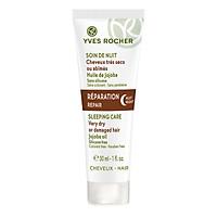 Mặt Nạ Ngủ Phục Hồi Sức Sống Cho Tóc Khô Và Hư Tổn Yves Rocher Repair Night Sleeping Care Very Dry Or Damaged Hair 30ml