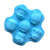 Khuôn silicon làm thạch, rau câu, socola, kẹo Doraemon và những người bạn