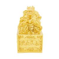 Ấn rồng thong thủy mạ vàng 24K