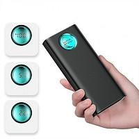 Pin dự phòng thương hiệu Baseus (BS-20KP203) (đen)cao cấp dung lượng 20000mAh công nghệ sạc nhanh cổng PD 3.0 sạc 2 chiều và Qualcomm QC 3.0 thiết kế đẹp độc đáo có màn hình LCD báo dung lượng Pin - Hàng chính Hãng