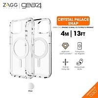 Ốp lưng chống sốc Gear4 D3O Crystal Palace Snap 4m hỗ trợ sạc Magsafe cho iPhone 13 series - Hàng chính hãng