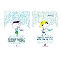 Combo Cẩm Nang Con Trai Tuổi Dậy Thì : Sổ Tay Kiến Thức Sinh Lí  (Quyển 1) +  Những Khúc Mắc Tâm Lí (Quyển 2)