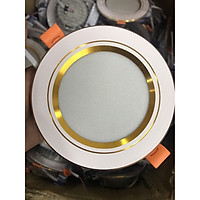 Đèn LED âm trần 9W D110 3 chế độ màu