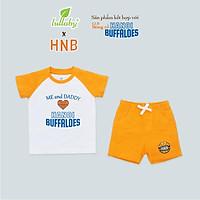 LULLABY x HNB - NHB04 Bộ cộc tay raglan quần đùi