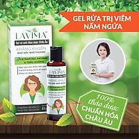 Dung dịch vệ sinh phụ nữ kháng khuẩn Thảo dược Châu Âu LAVIMA- gel rửa phụ khoa (rửa vùng kín) diệt nấm ngứa, viêm phụ khoa, viêm lộ tuyến 88g (New)