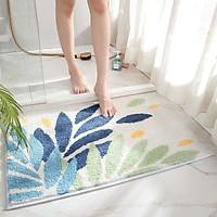 Thảm trải sàn 50x80cm phòng khách, phòng tắm, phòng ngủ, cửa ra vào ( thảm chùi chân, dày siêu êm, thấm nước) -TLC031