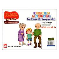 Flashcard Dạy Trẻ Theo Phương Pháp Glenn Doman - Các Thành Viên Trong Gia Đình (Giao Mẫu Ngẫu Nhiên)