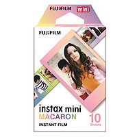 Hộp Film Fujifilm Mini 10 Tấm Macaron - Hàng Chính Hãng