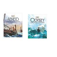 Combo 2 cuốn sách: Thần thoại vàng: Aeneid những cuộc phiêu lưu của Aeneas + Dyssey những cuộc phiêu lưu của Odysseus