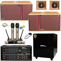 Trọn Bộ dàn karaoke gia đình SA - 9500S BellPlus (hàng chính hãng) VIP