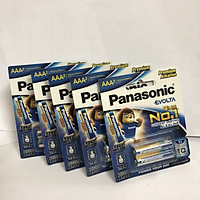 Set bộ 5 vỉ (10 viên) pin kiềm EVOLTA AA Panasonic(LR03EG/2B)-Hàng chính hãng