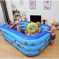 Bể bơi phao bơi cho bé 3 tầng đủ kích cỡ