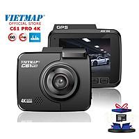 VIETMAP C61 PRO - Camera hành trình 4K Cảnh Báo Giao Thông Giọng Nói - Nâng cấp âm thanh - HÀNG CHÍNH HÃNG