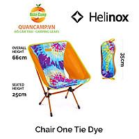Ghế dã ngoại xếp gọn Helinox Chair One Tie Dye