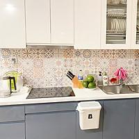 Decal gạch bông trang trí dán bếp, dán tường - mã HV173