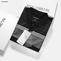 Áo Polo nam phối cổ bẻ ILUX vải cá sấu Cotton xuất xịn,chuẩn form trẻ trung, thanh lịch P70 - POLOMAN