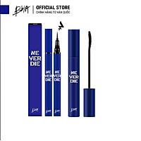 Combo Bbia Never Die Mascara Power Black 7g + Kẻ mắt Never Die Brush Eyeliner 0.4g