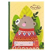 Bộ 5 Vở Class Friendly Animal 5 Ôly Vuông (96 Trang) - 0420 - Hình Gấu