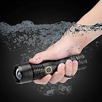 Đèn pin cầm tay zoom chỉnh sáng Power style