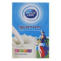 Sữa Bột Nguyên Kem Dutch Lady Cô Gái Hà Lan Hộp Giấy (400g)
