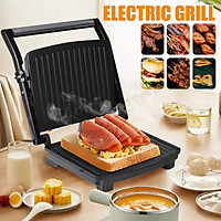 Sokany 2000W Multifunction Electric BBQ Grill Cook Machine Hotplate Barbecue Smokeless Grilled Meat Pan with Household Kitchen Appliances